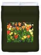 Tulips - Field With Love 41 Duvet Cover