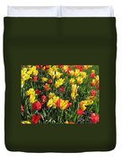 Tulips - Field With Love 49 Duvet Cover