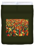 Tulips - Field With Love 51 Duvet Cover