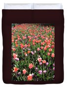Tulips - Field With Love 55 Duvet Cover