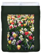 Tulips - Field With Love 58 Duvet Cover