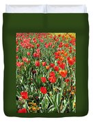 Tulips - Field With Love 62 Duvet Cover