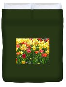 Tulips - Field With Love 65 Duvet Cover