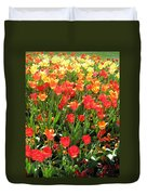 Tulips - Field With Love 68 Duvet Cover