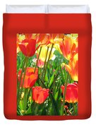 Tulips - Field With Love 69 Duvet Cover