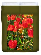 Tulips - Field With Love 71 Duvet Cover