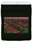 Tulips Fields Are Forever Duvet Cover