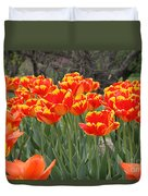 Tulips From Brooklyn Duvet Cover
