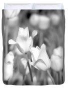 Tulips - Infrared 12 Duvet Cover