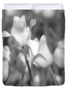 Tulips - Infrared 14 Duvet Cover
