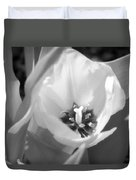 Tulips - Infrared 31 Duvet Cover