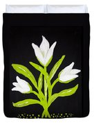 Tulips Duvet Cover by Melissa Dawn