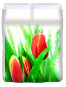Tulips Duvet Cover by Moon Stumpp