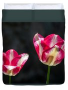 Tulips Of A Kind Duvet Cover