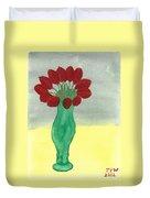 Tulips Of Love Duvet Cover