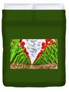 Tulips Part IIi Duvet Cover