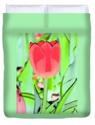 Tulips - Perfect Love - Photopower 2089 Duvet Cover