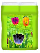 Tulips - Perfect Love - Photopower 2168 Duvet Cover