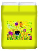Tulips - Perfect Love - Photopower 2169 Duvet Cover