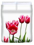 Tulips Say Hello Duvet Cover