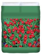 Tulips Tulips And Tulips Duvet Cover
