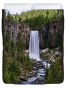 Tumalo Falls - Oregon Duvet Cover