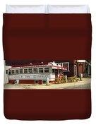 Tumble Inn Diner Claremont Nh Duvet Cover