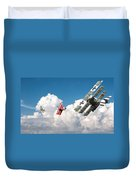 Tumult In The Clouds Duvet Cover