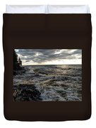 Tumultious Waters Duvet Cover