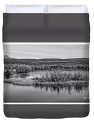 Tundra Pond Reflections Duvet Cover