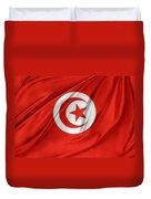Tunisia Flag Duvet Cover