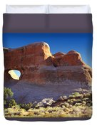 Tunnel Arch - Arches National Park Duvet Cover
