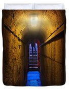 Tunnel Exit Duvet Cover by Carlos Caetano