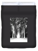 Tunnel Of Trees Duvet Cover