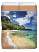 Tunnels Beach Bali Hai Point Duvet Cover