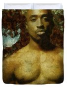 Tupac Shakur - Tribute Duvet Cover