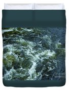Turbulance At Loch Ness Duvet Cover