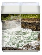 Turbulent Devils Churn - Oregon Coast Duvet Cover
