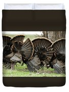 Turkey Butt Strut Duvet Cover