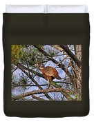Turkey In A Tree Duvet Cover