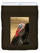 Turkey Time Duvet Cover by Carolyn Marshall