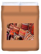 Turkish Cushions 03 Duvet Cover by Rick Piper Photography