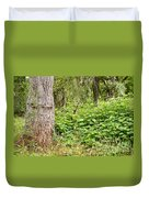 Turk's Cap And Tree Duvet Cover