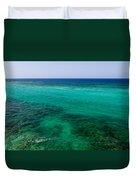 Turks Turquoise Duvet Cover