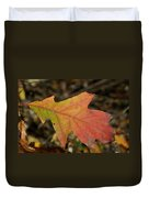 Turn A Leaf Duvet Cover by JAMART Photography