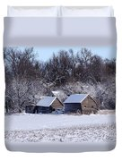 Turn The Page Winter Edition Duvet Cover