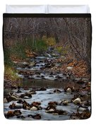 Turner Falls Stream Duvet Cover