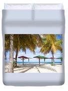 Turner's Beach Duvet Cover