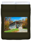 Turner's Covered Bridge Duvet Cover