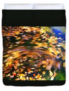 Turning Leaves Duvet Cover